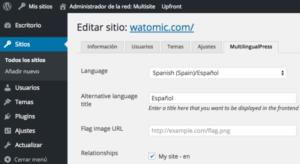 Alternativa al traductor WPML wordpress4
