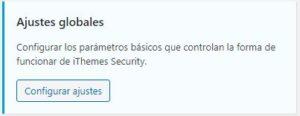 configurando ithemes security