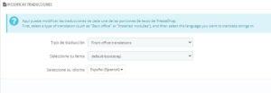 Cambiar texto Venta del producto en Prestashop