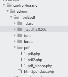 Como generar pdf con php mysql con html2pdf